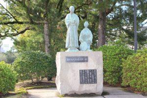 坂本龍馬新婚の旅碑