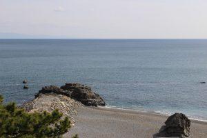 桂浜からの眺め