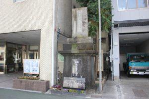 坂本龍馬誕生地の石碑