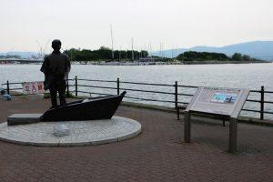 箱館・新島襄の銅像