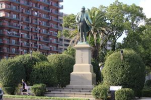 大久保利通の銅像