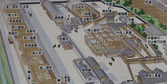 平六 江戸・小伝馬町の牢獄の囚...