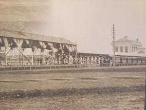 開業当時の新橋駅