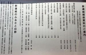 高幡不動尊の新選組関連資料