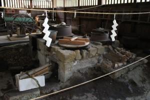 江川邸の内部