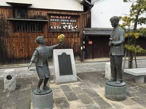 ヴォーリズ像(近江八幡)