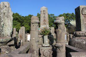 別府晋介の墓