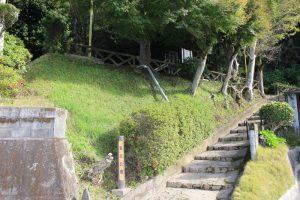 桐野利秋誕生地の入口