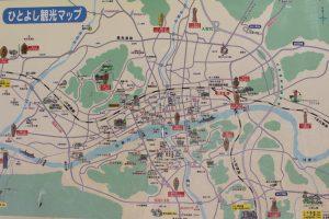 人吉観光マップ