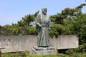 吉田茂の銅像
