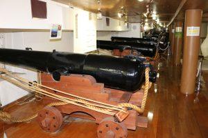 開陽丸の大砲
