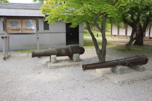 五稜郭の大砲