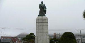高田屋嘉兵衛銅像