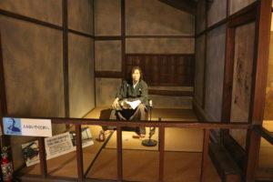 坂本龍馬の隠れ部屋