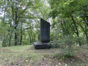 関寛斎を称える石碑